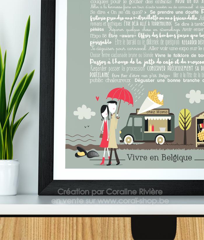 affiche belgique phrases humour expressions et coutumes belges
