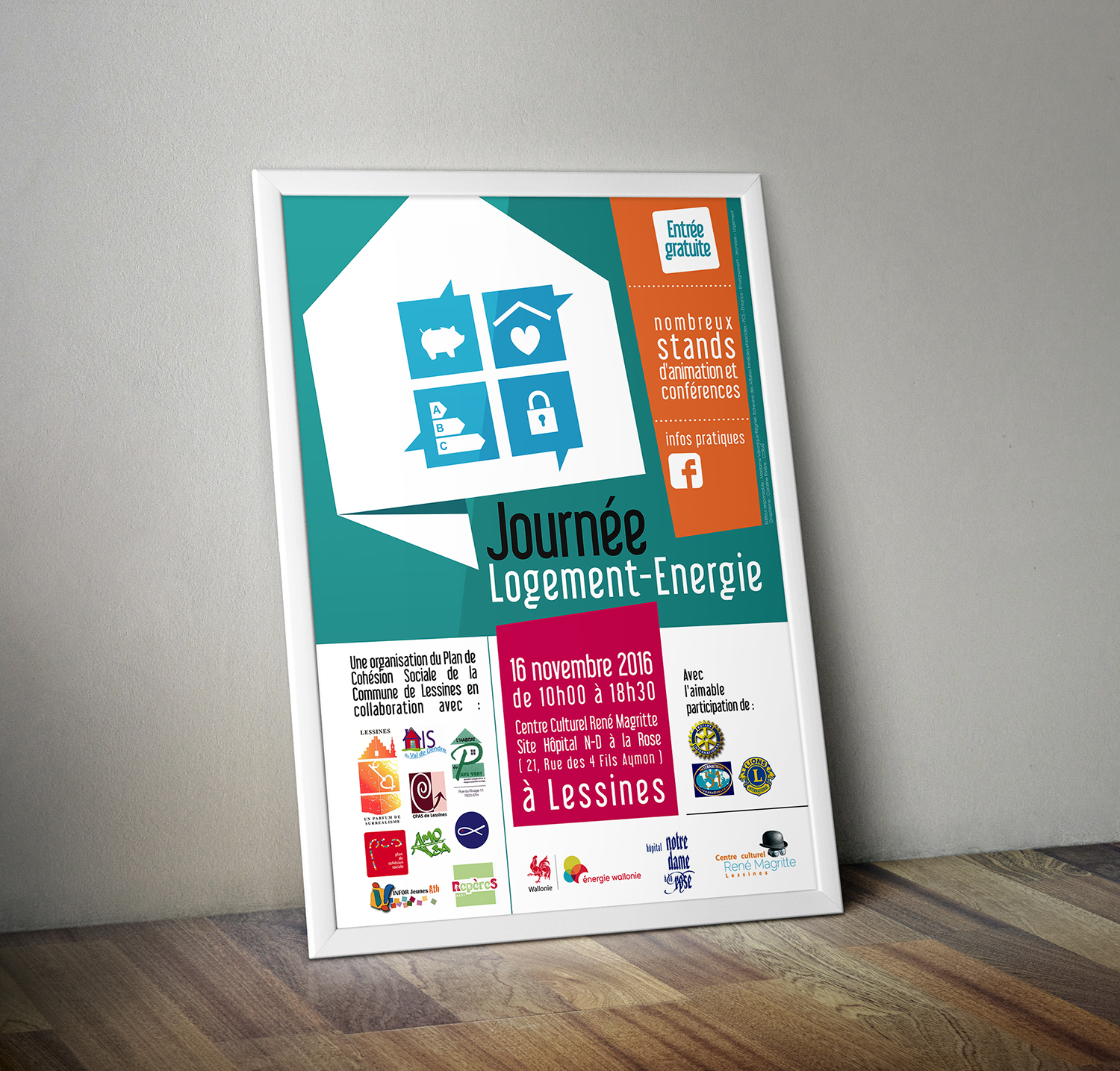affiche journee energie lessines conferences animations stands1
