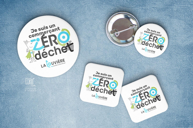 badge responsable commercant zero dechet ville la louviere1