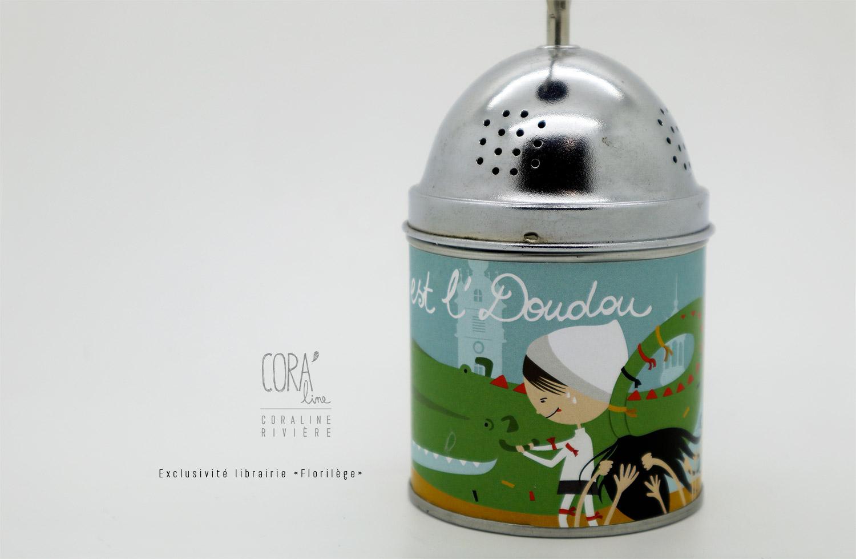boite a musique air du doudou illustration coraline riviere