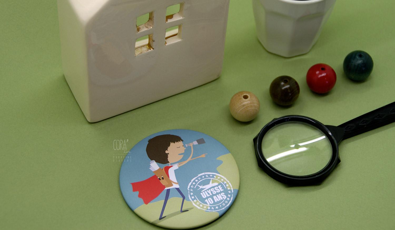 cadeau souvenir anniversaire 10 ans ulysse magnet illustration voyage1