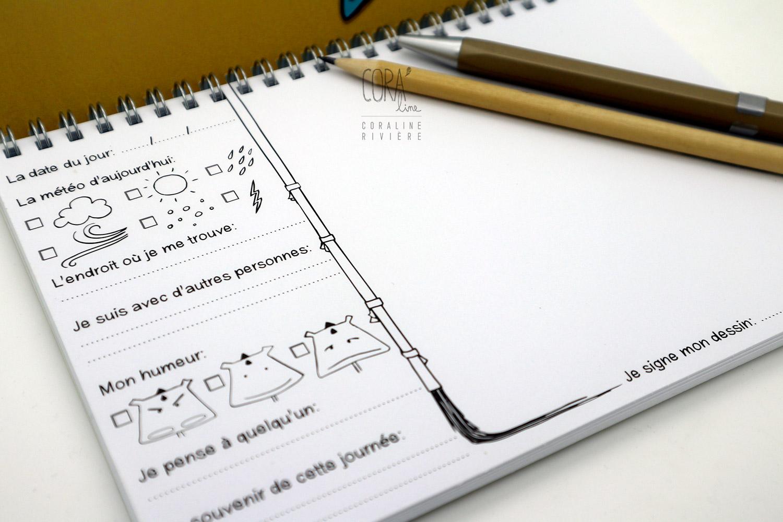 carnet de dessin pour enfant petit doudou mons carnet expression petit artiste