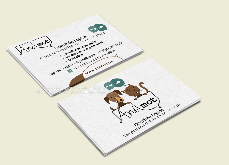 creation logo chien chat comportementaliste animaux