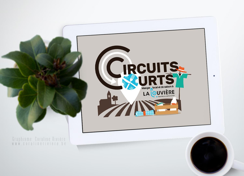 creation logo circuit court ville la louviere manger local et de saison