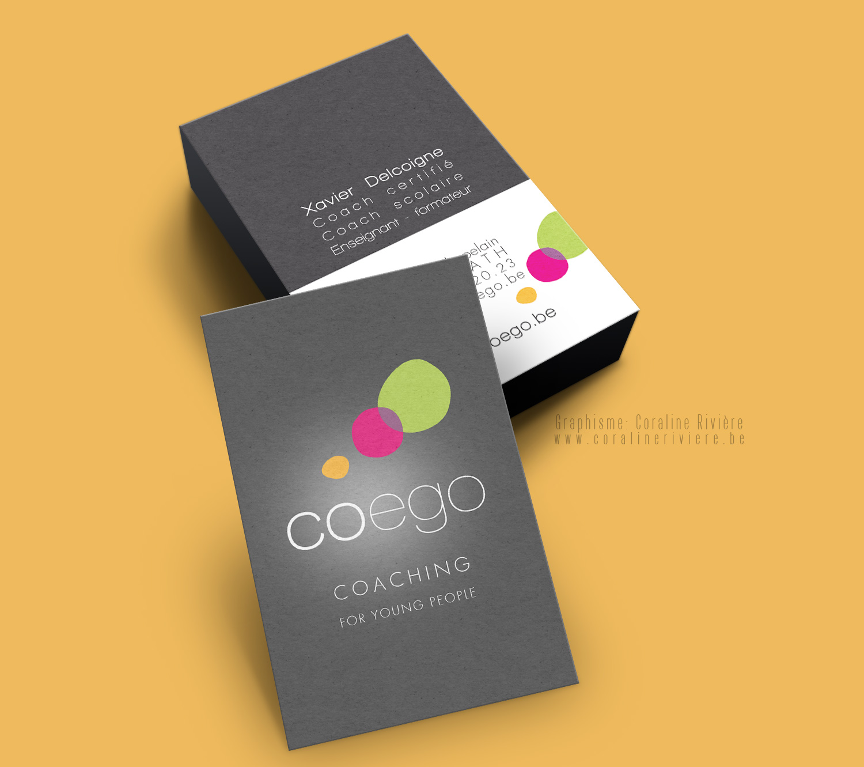 creation logo coaching young people coaching scolaire coego