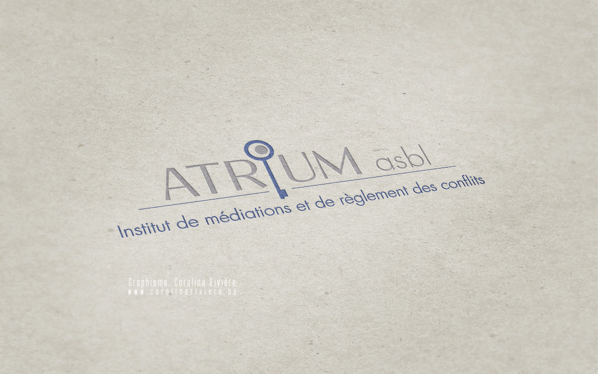 creation logo institut mediation reglement conflits
