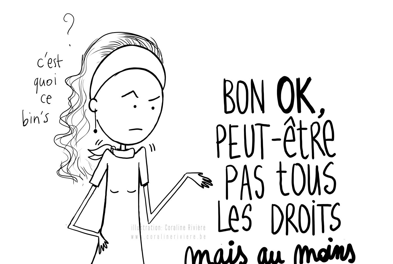 dessin coraline riviere droits des femmes egalite hommes femmes 8mars