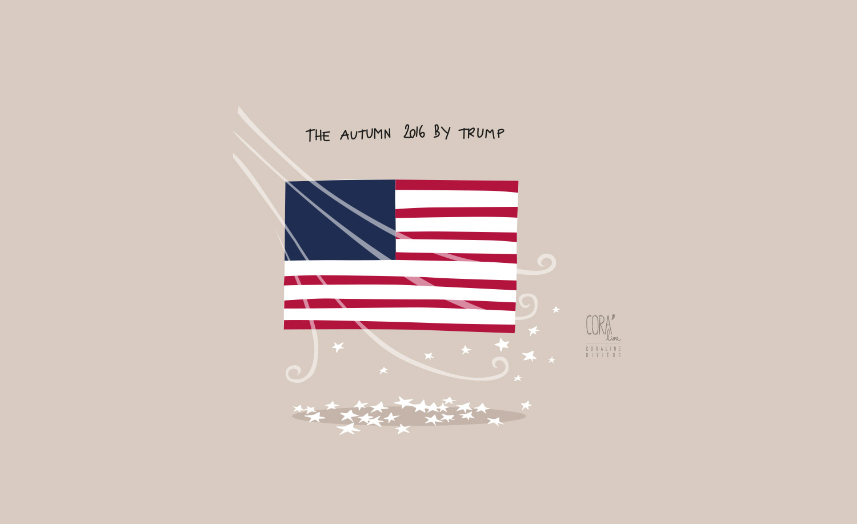 dessin election trump