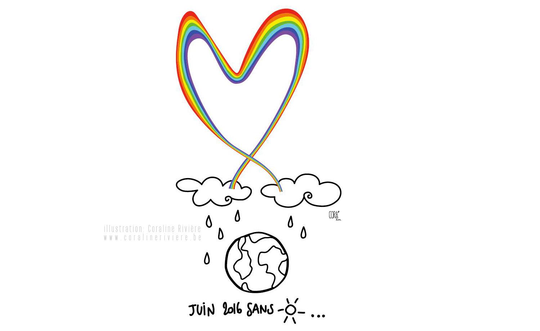 dessin en memoire attentat orlando 12 juin 2016 communauté LGBT