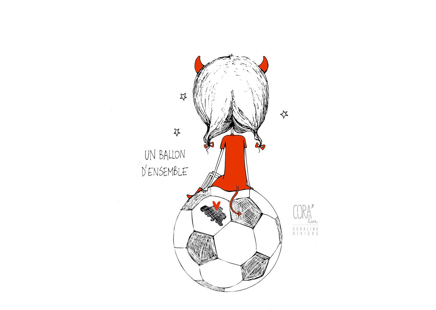 dessin ensemble footbal diables rouges belgique coupe europe 2016