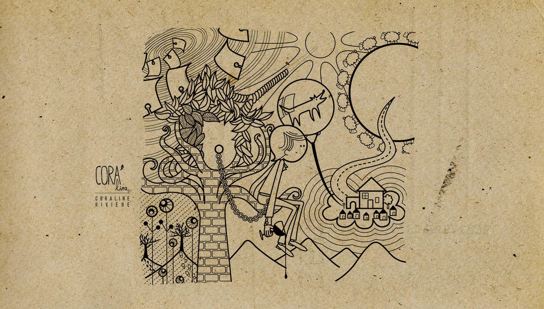 dessin pochette album musique bleen1
