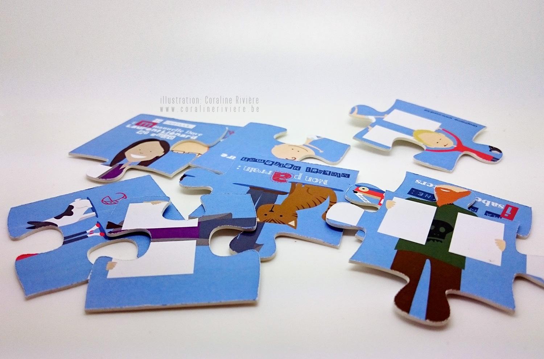 faire part naissance original en puzzle decouvrir prenom