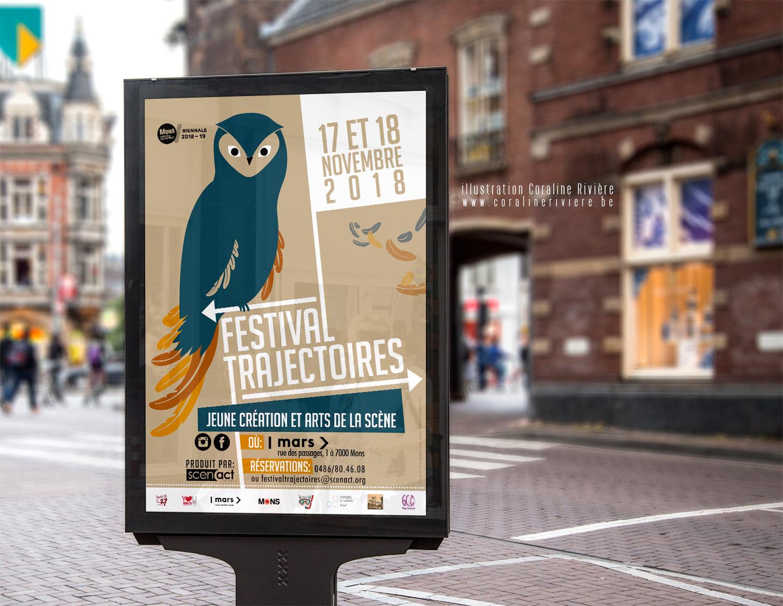 festival trajectoire jeune creations arts de la scene theatre mons