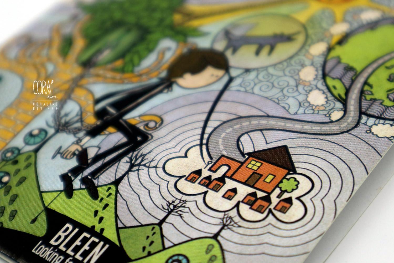 illustration coraline riviere pochette album musique