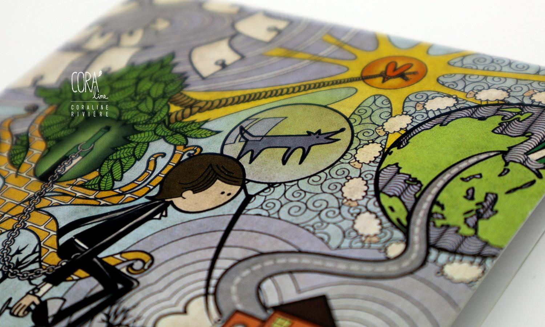 illustration pochette album bleen pierre surquin