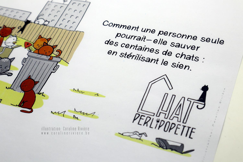 illustration sauver chats mlheureux stereliser castrer chats errants