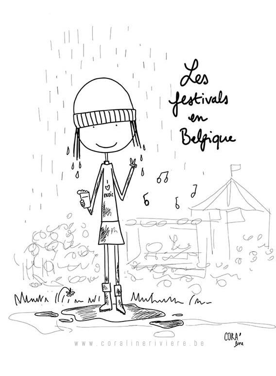 les festivals en belgique en ete pluie boue
