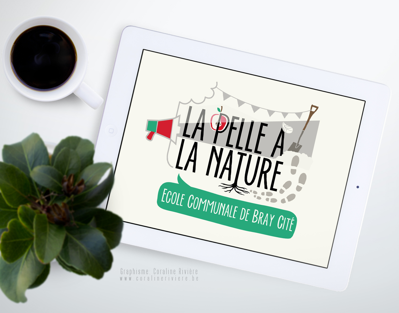 logo ecole communale apprentissage nature enseignement