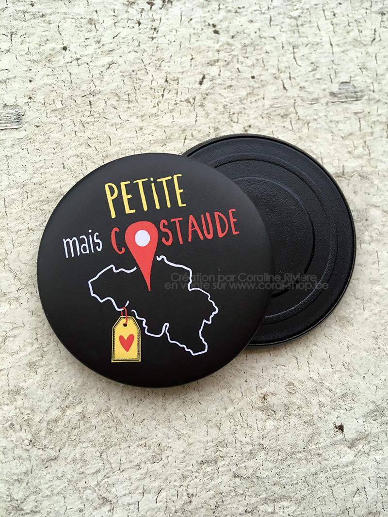magnet aimant frigo Belgique petit pays mais costaud belgitude fier etre belge