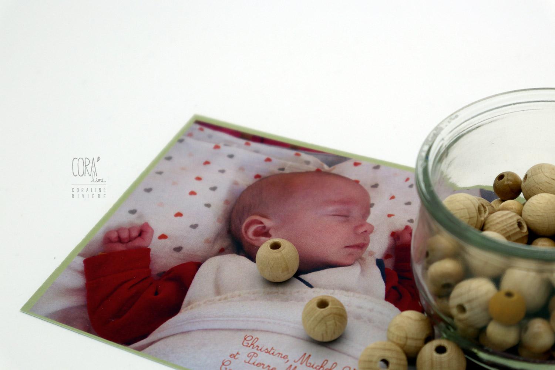 remerciement naissance pierre photo bebe raccord aec graphisme faire part naissance