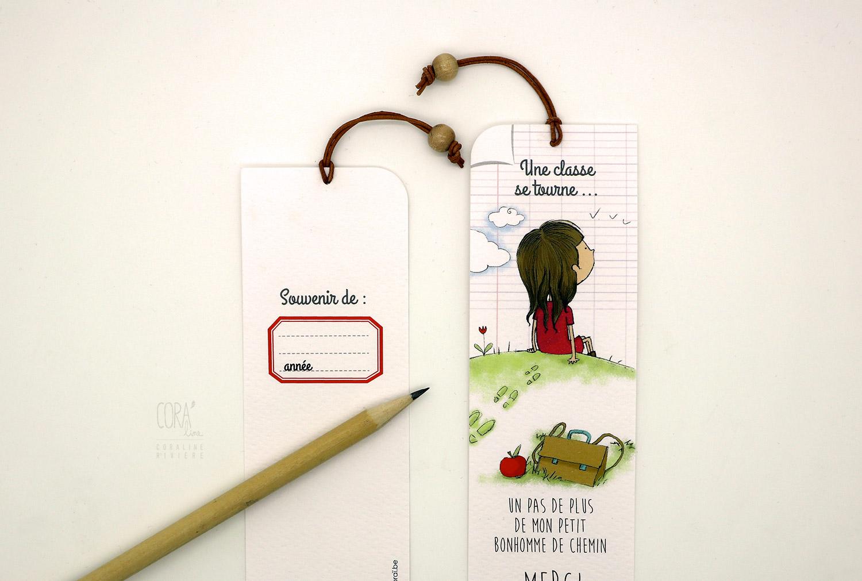 signet marque page cadeau souvenir enseignant fin ecole1
