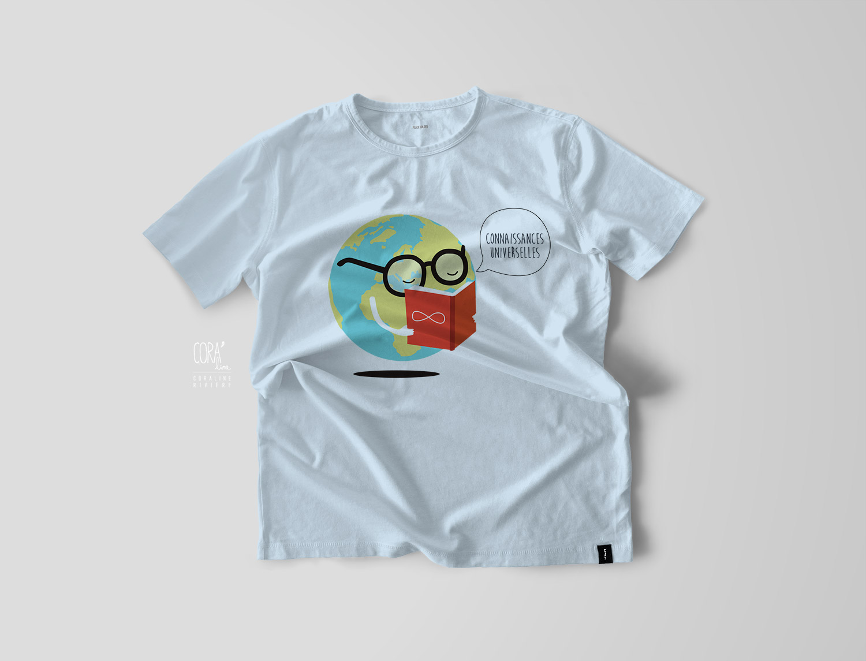 t shirt illustration musee mundaneum mons connaissances universelles1